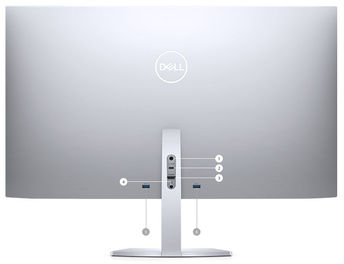 Dell 27 USB-C Ultrathin Monitor: S2719DC | Connectivity Options