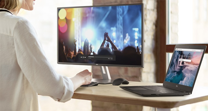 Dell 27 Monitor: S2719H | Striking looks