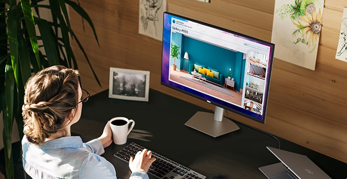 Dell 27 Monitor: S2721DS | Experience it all