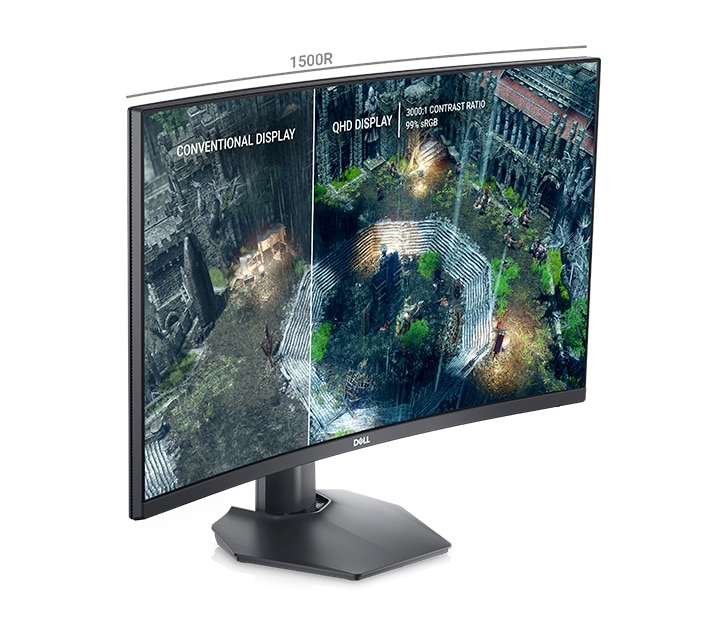 Dell 27 Curved Gaming Monitor: S2722DGM | Dive into the details