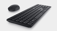 Dell 22 Monitor - SE2222H | Dell Pro Wireless Keyboard and Mouse - KM5221W
