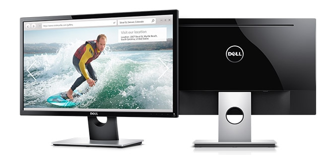 Dell 24 Monitor | SE2416H - Clean, sleek design