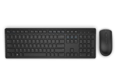 Dell 24 Monitor | SE2416H - Dell Wireless Keyboard & Mouse Combo - KM636