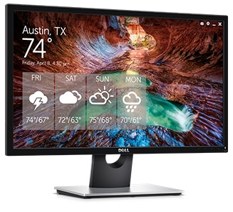 Dell 24 Monitor | SE2417HGX - Timeless design