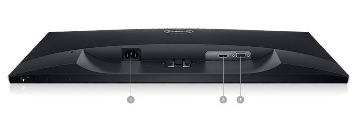 Dell 24 Monitor | SE2419HR - Connectivity options