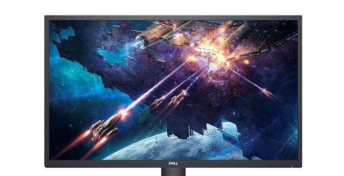 Dell 27 Monitor: SE2722H   Smooth and lively visuals