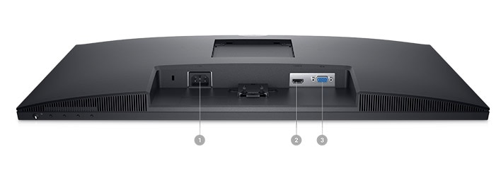 Dell 27 Monitor: SE2722H   Connectivity Options