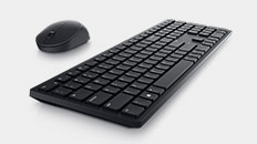 Dell 27 Monitor: SE2722H   Dell Pro Wireless Keyboard and Mouse - KM5221W