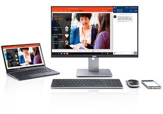 Dell UltraSharp 24 無線連接顯示器 - U2417HWi | 專為卓越的視覺體驗而設計