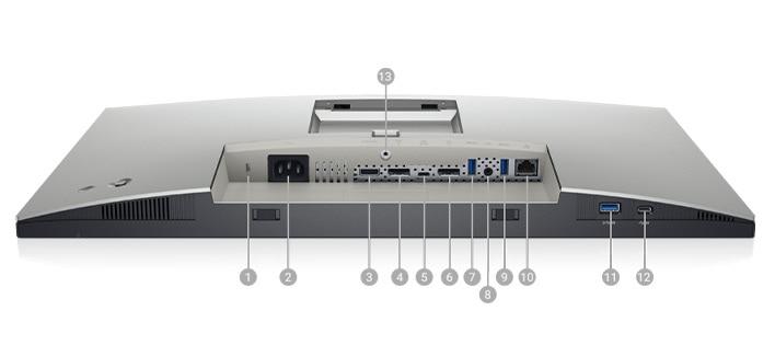 The Dell UltraSharp 24 Monitor : U2421E | Connectivity Options