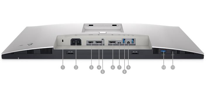 Dell UltraSharp 24 FHD Monitor: U2422H   Connectivity Options