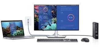Dell UltraSharp 24 FHD Monitor: U2422HE | Designed for multitasking