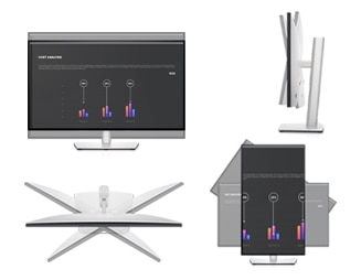 Dell UltraSharp 24 FHD Monitor: U2422HE | The perfect fit for any space