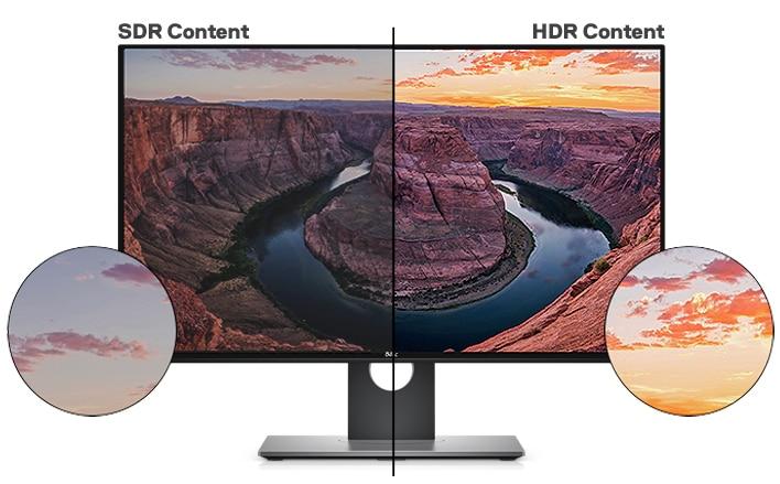 Dell UltraSharp 27 4K 顯示器 - U2718Q | 栩栩如生的視覺效果
