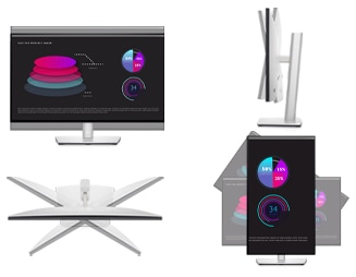 Dell UltraSharp 27 QHD Monitor: U2722D | The perfect fit for any space