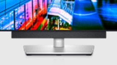 Dell UltraSharp 27 QHD Monitor: U2722D | Dell Slim Soundbar | SB521A