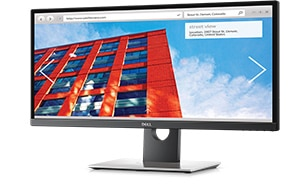 Dell Ultrasharp 29 Ultrawide Monitor - U2917W | A sweeping and stunning view