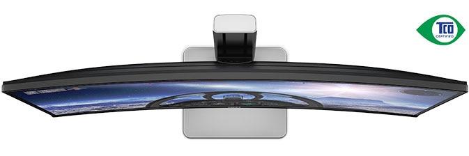 Dell UltraSharp 34 böjd bildskärm - U3415W - Tillförlitlig och miljövänlig