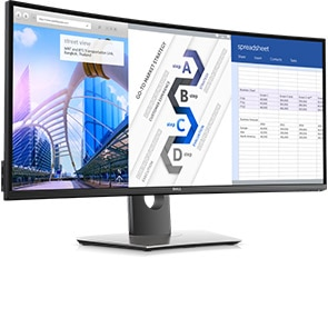 Dell UltraSharp 34 Curved Monitor | U3417W
