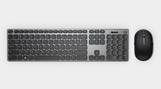 Dell UltraSharp 34 Curved USB-C Hub Monitor : U3421WE | Dell Premier Wireless Keyboard and Mouse | KM717