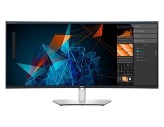 Dell UltraSharp 40 Curved WUHD Monitor : U4021QW | Give your visuals power