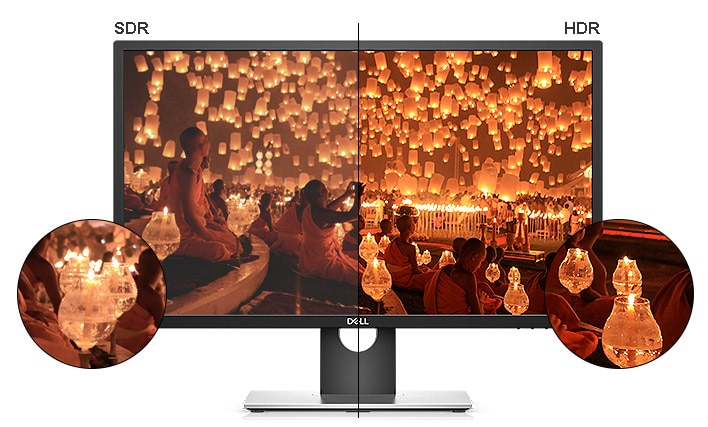 Monitor Dell UltraSharp 27 4K HDR: UP2718Q | Imágenes que inspiran