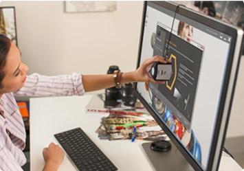 Dell UltraSharp 32 顯示器   UP3214Q:絕佳的色彩精確度和一致性