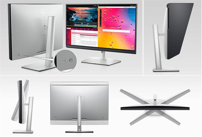 Dell UltraSharp 32 HDR PremierColor Monitor: UP3221Q | Elevated design