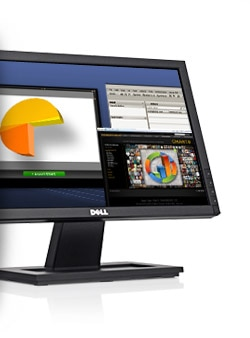 Dell E1910H Widescreen Flat Panel Monitor- Excellent Viewability