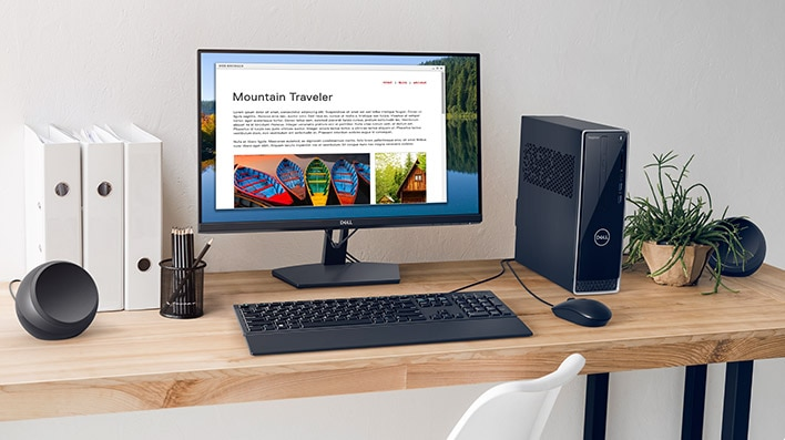 Dell 24 Monitor: SE2419H | Design that shines