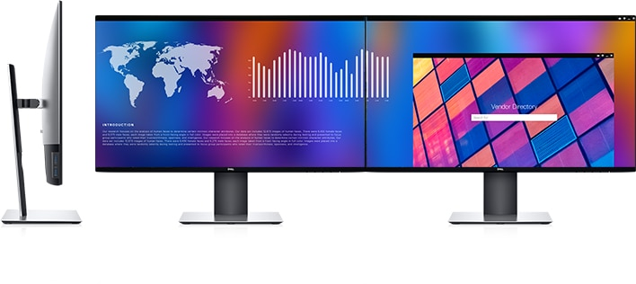 Dell UltraSharp 27 USB-C Hub Monitor: U2721DE | Improved Dell Display Manager