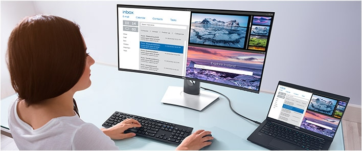 Dell UltraSharp 34 Curved USB-C Monitor:U3419W | Enhance your productivity
