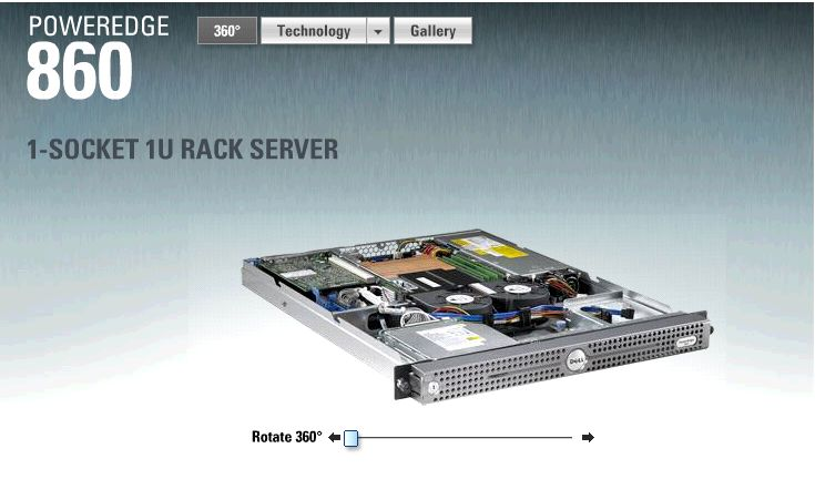 poweredge 860 details dell am rica latina y caribe rh www1 la dell com Dell PowerEdge 860 Drivers Dell PowerEdge 860 Drivers