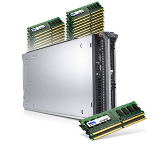 PowerEdge M605 Blade Server with Streamlined Virtualization