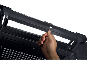 Dell PowerEdge 2420 Rack Enclosure - Removable tail-bars
