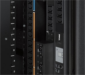 Dell PowerEdge 4220 Rack Enclosure - Important PDU mounting features