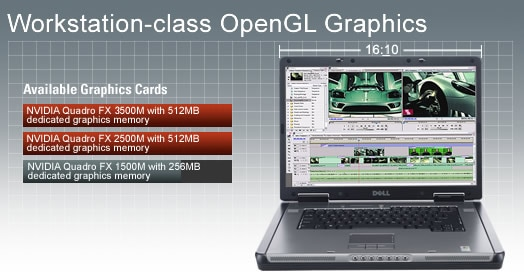 Workstation-class OpenGL Graphics