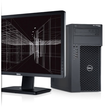 Precision T1650 - Evolve beyond the desktop with the totally redesigned Dell Precision T1650 Workstation