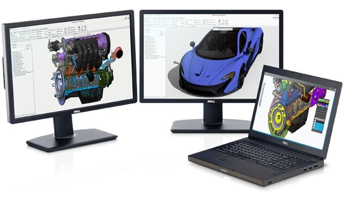 Staţia de lucru Precision M6800 – procesare puternică şi performanţă grafică
