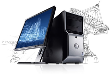 Dell Precision T1500 - At a Glance