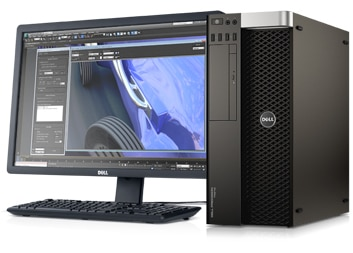 Precision-T5610 workstation-ISV Certified for seamless software performance