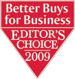 Better Buys for Business Editor's Choice 2009