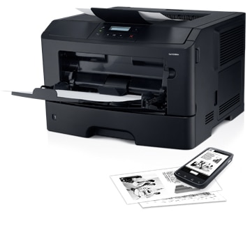 Dell B2360dn Mono Laser Printer - Help increase office productivity
