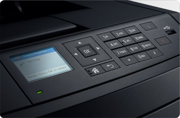 Dell B3460dn Mono Laser Printer - Intuitive design and simple management