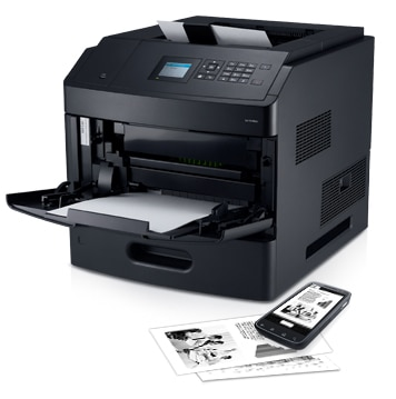 Dell B5460dn Mono Laser Printer - Powerful performance and outstanding value