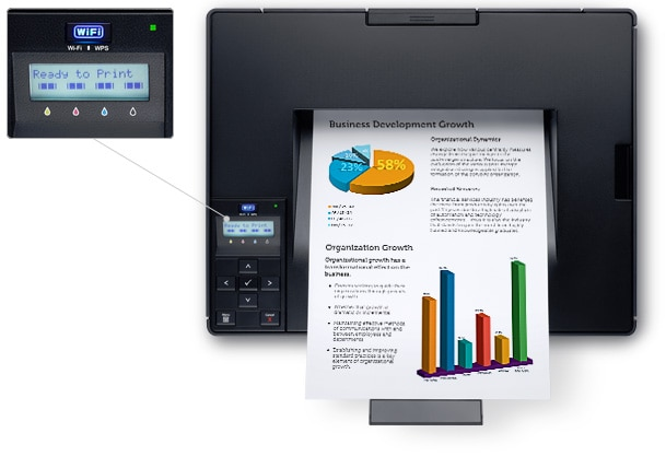 Dell C1660w Color Printer - Simple to use and maintain