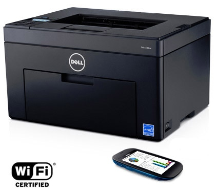Dell C1760nw Color Printer - Efficiency comes naturally