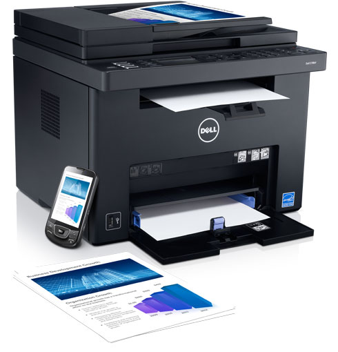 Dell C1765nf Color Multifunction Printer - Efficiency comes naturally