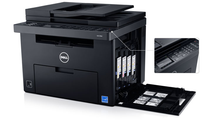 Dell C1765nf Color Multifunction Printer - Simple to use and maintain