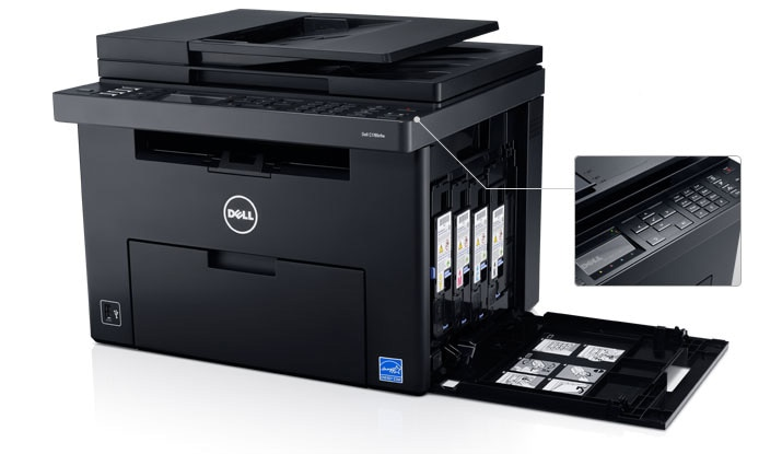 Dell C1765nfw Color Multifunction Printer - Simple to use and maintain